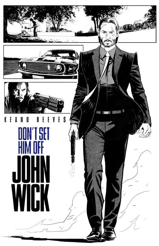 Keanu Reeves in John Wick