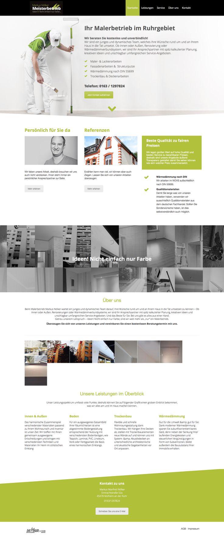 Webdesign Malerbetrieb