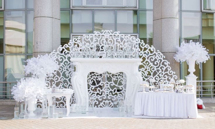 17 best images about wedding decorations church on for Backdrop decoration for church