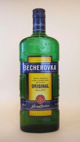 Czech spicy digestif, only 2 people in the world know the recipe.