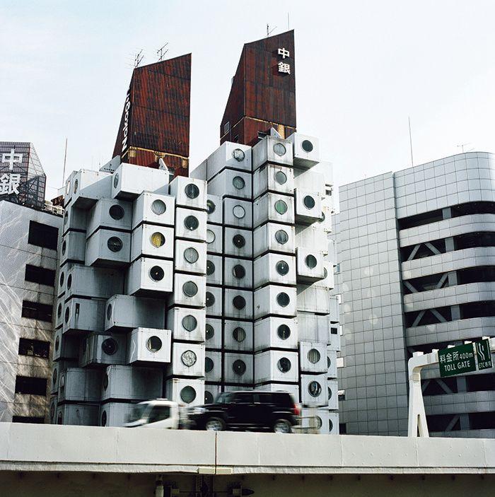 Les 25 meilleures id es concernant kisho kurokawa sur for Architecture suspendue