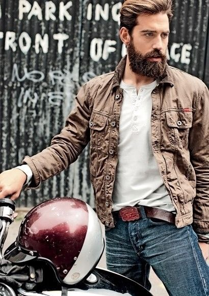 Nice style, no to motorcycles
