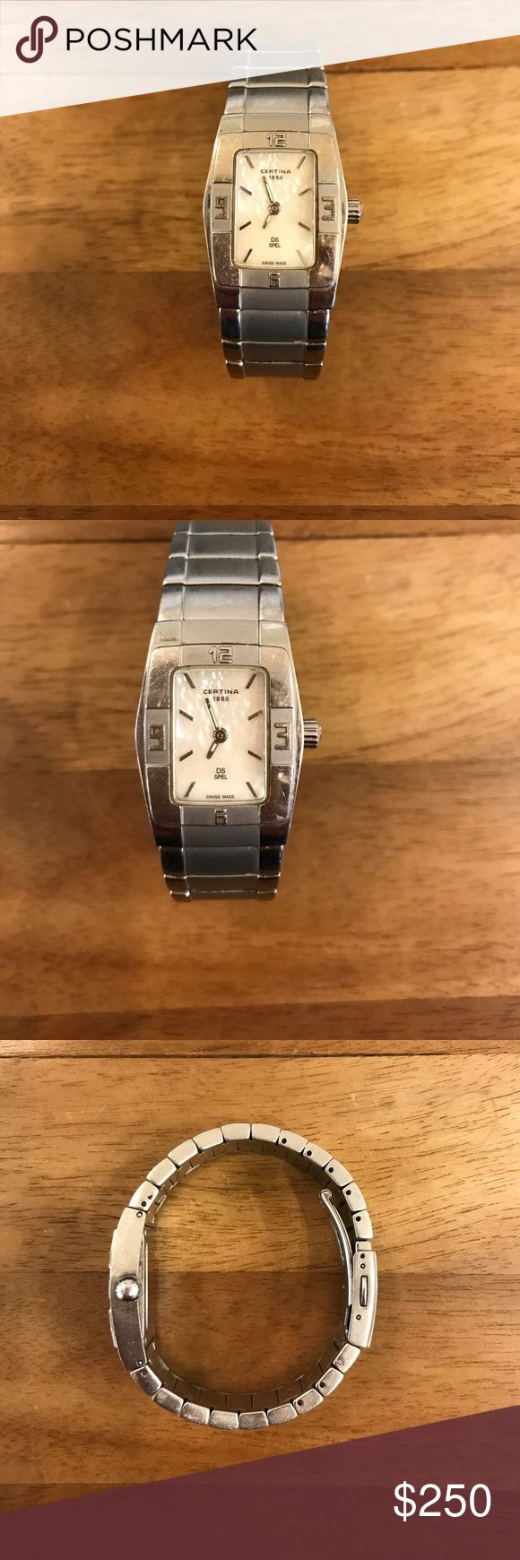Certina watch Stainless steel, worn but in good condition. Certina Accessories Watches