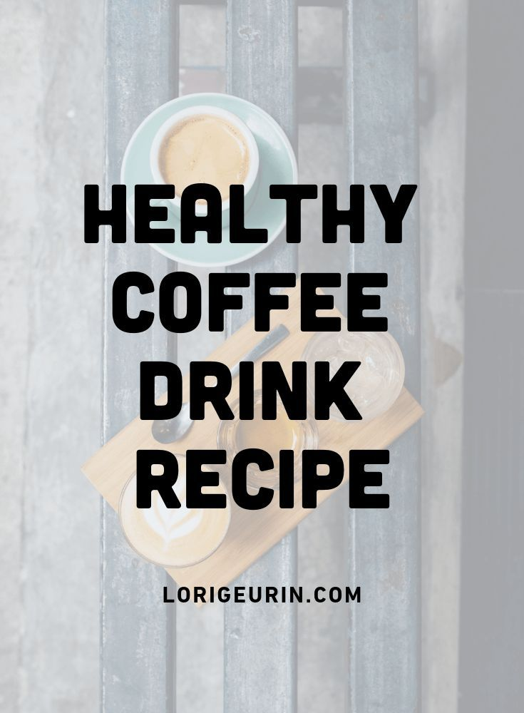 Healthy Mocha Coffee Drink With Coconut Oil