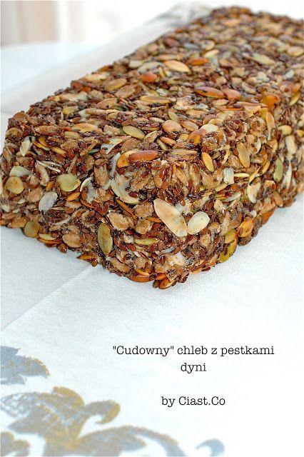 """Ciast.Co: """"Cudowny"""" chleb z pestkami dyni"""
