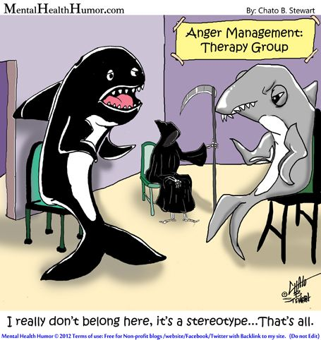 2012 Mental Health Humor - I really dont belong here its a stereotype