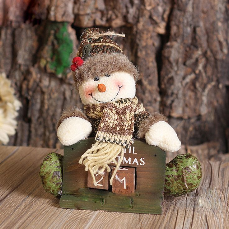 O Novo Brinquedo de Presente de Natal Série Calendário Desktop Boneca Enfeites De Natal Decorações de Natal em Ornamentos pingente & Drop de Home & Garden no AliExpress.com | Alibaba Group