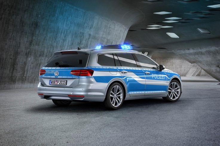 VW Passat GTE : la Polizei adopte l'hybride rechargeable