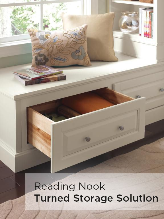 Get creative with study spaces by turning our Homecrest Furniture Drawer Cabinet into a reading nook. Storing extra pencils, paper and books has never been easier!