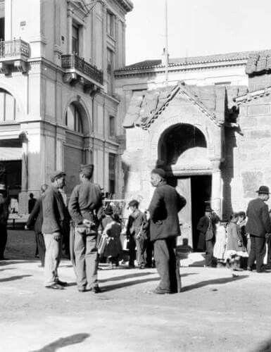 1905 ~ Kapnikarea church, Athens