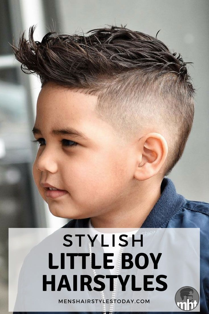 Stylish little boy hairstyles cool haircuts for toddler boys