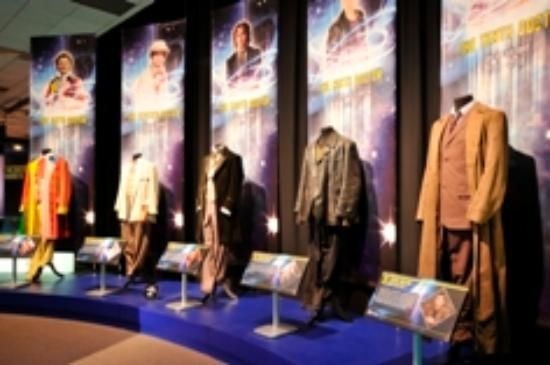 Doctor Who Experience (museum) In London.