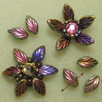* Janie's Beads: Beaded Flowers - Day 4 with links to basic under structure. ~ Seed Bead Tutorials