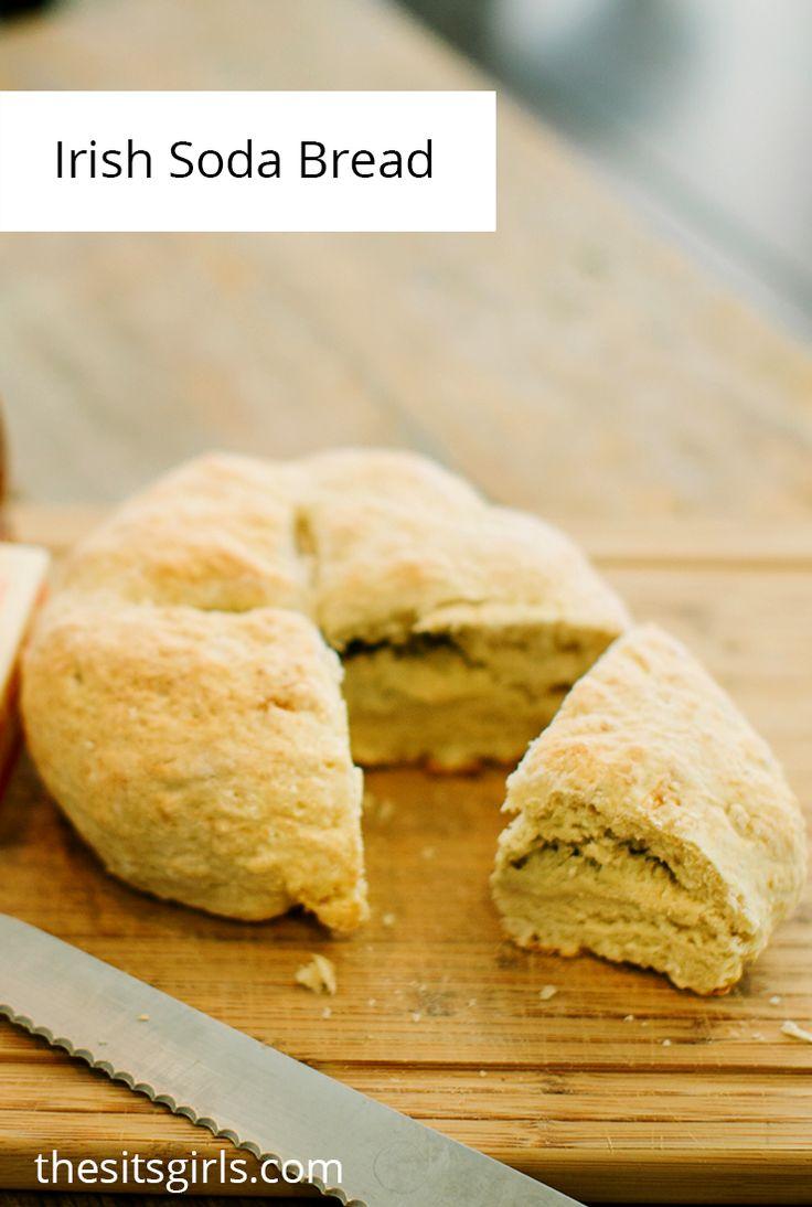 Irish Soda Bread Recipe - this is an easy bread recipe for beginning bakers. via @sitsgirls
