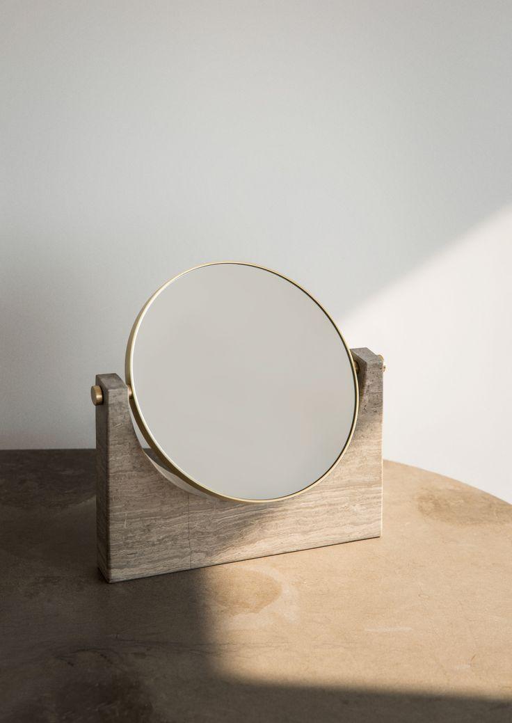 MENU, Pepe Marble Mirror By Studiopepe