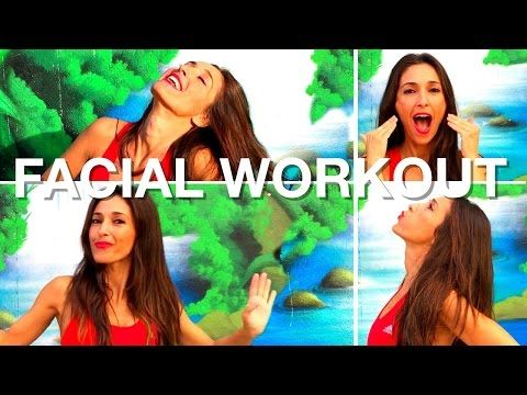 Facial Exercises To Reduce Cheek Fat | 5 Minute Facial Workout - YouTube