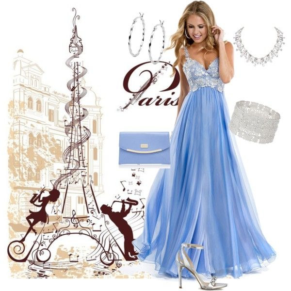 Noche en Paris,Vestido de Quinceanera by ne-m-reynolds on Polyvore featuring GUESS, Forever New, Humble Chic, Wallis and Jewel Exclusive