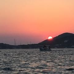 Photo taken at Arkoi Island by TC Hüseyin E. on 8/7/2015