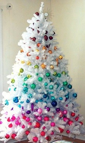 Pretty Christmas Trees Best 25 White Trees Ideas On Pinterest  White Christmas Trees .