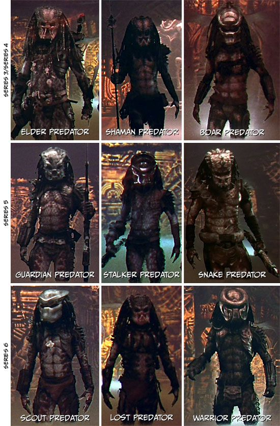 The Lost Clan from Predator 2.
