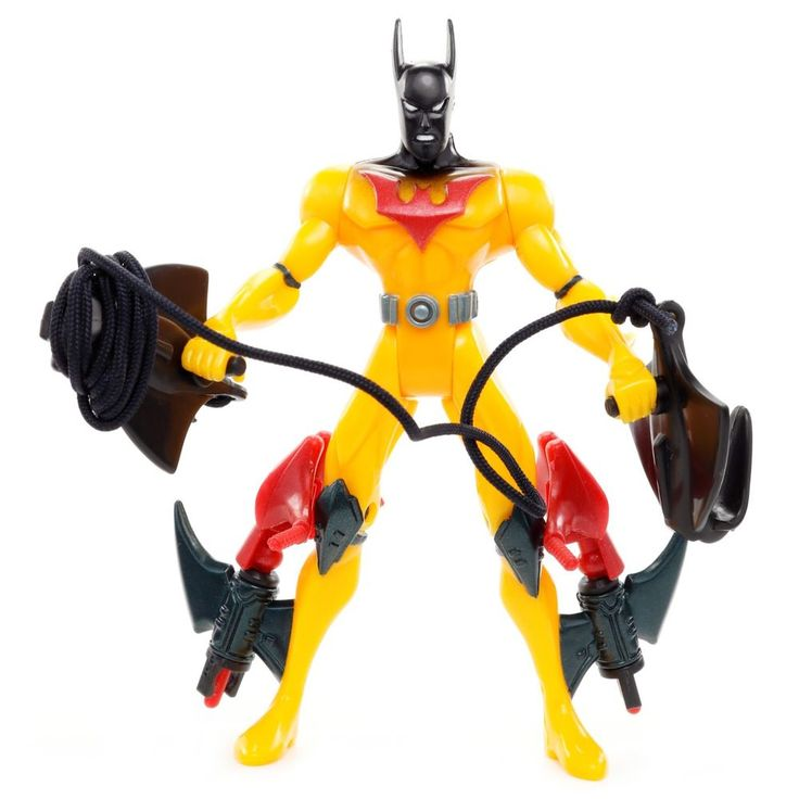 "Batman Beyond Mission Masters Highwire Zip-line BATMAN 5"" Action Figure Kenner  #Kenner"