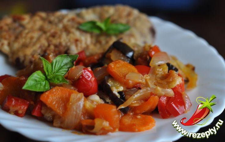 Рецепт овощного консервированного салата