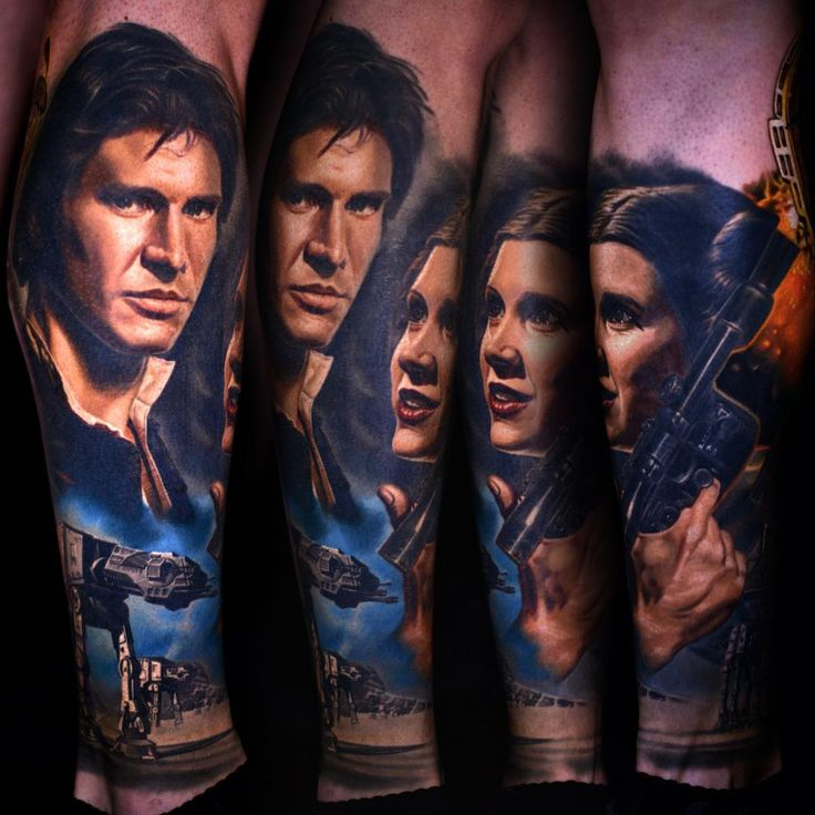#StarWars #Tattoo nikko hurtado