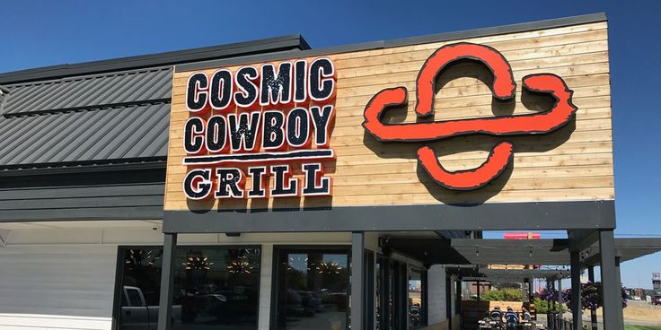 Cosmic Cowboy Grill - A venture on the natural side