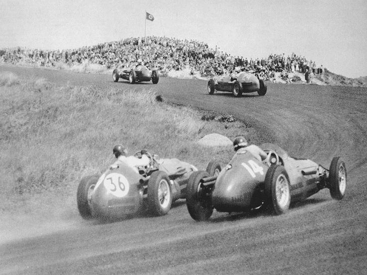 #14 Jose Froilan Gonzalez (RA) - Maserati A6GCM (Maserati 6) rear axle (5) Officine Alfieri Maserati #24 Maurice Trintignant (F) - Gordini T16 (Gordini 6) 6 (12) Equipe Gordini #36 Peter Collins (GB) - HWM 53 (Alta 4) 8 (16)