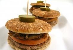 Skinny Sliders with Caramelized Onions: Mini Burgers, Weight Watchers, Weight Watcher Points, Caramel Onions, Paninis Maker, Recipes, Skinny Sliders, Weights Watchers Points, Minis Burgers