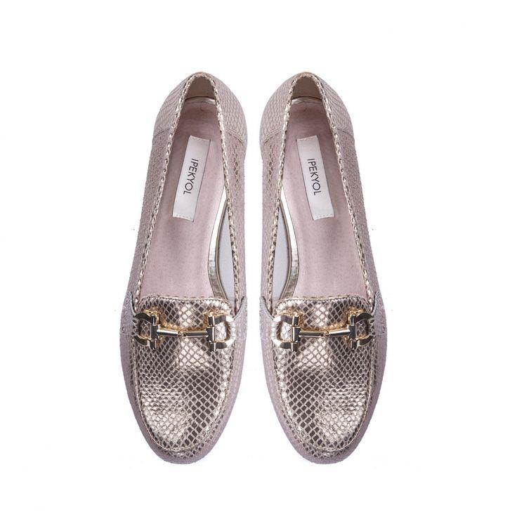 Ipekyol toka detaylı #parlak #loafer #ipekyoldanyazışıltısı