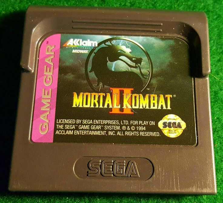 A personal favorite from my Etsy shop https://www.etsy.com/listing/504662726/vintage-sega-game-gear-video-game-mortal