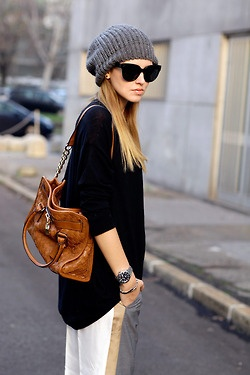 More street style here!