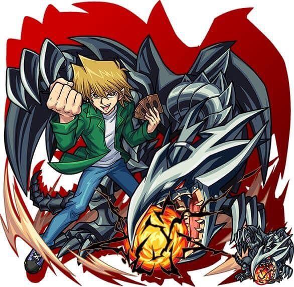 Joey Wheeler Red Eyes Black Metal Dragon Yu Gi Oh X Monster Strike Yugioh Monsters Anime Yugioh Collection