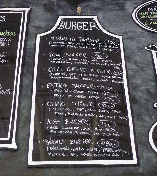 Finomító Kantin (bárányburger)