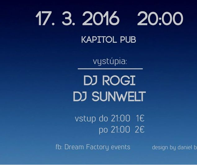 Dream afterparty maturita 17.3.2016