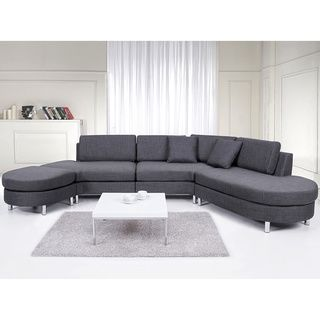 @Overstock - Copenhagen Contemporary Italian Design Grey Fabric Sectional Sofa Set - The gorgeous contemporary design of the Copenhagen Sectional Sofa provides it with a distinguishing touch. Take your living to the next level with this contemporary sectional sofa, with all seating surfaces and cushions upholstered in polyester fabric.  http://www.overstock.com/Home-Garden/Copenhagen-Contemporary-Italian-Design-Grey-Fabric-Sectional-Sofa-Set/8649612/product.html?CID=214117 $2,199.99