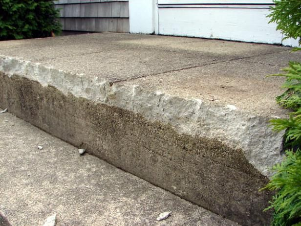 How To Fix Up An Entrance To Fix Concrete Steps And