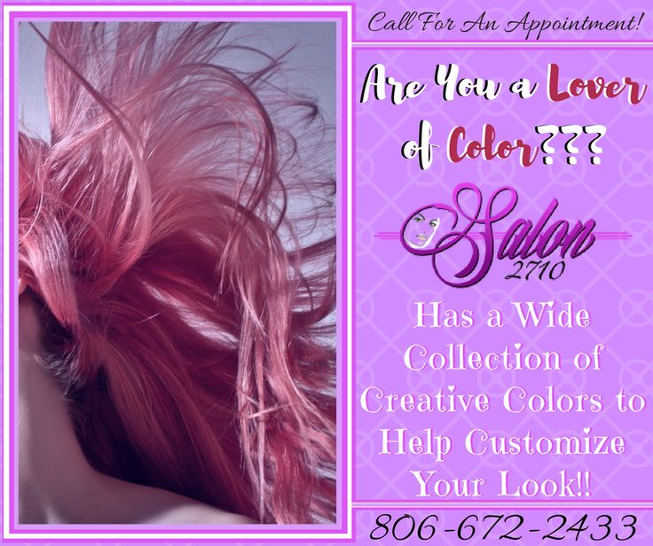 Do you need more color in your life? Biff is an expert in color and color correction.  Make an appointment today and update your look! https://goo.gl/MWeSSA
