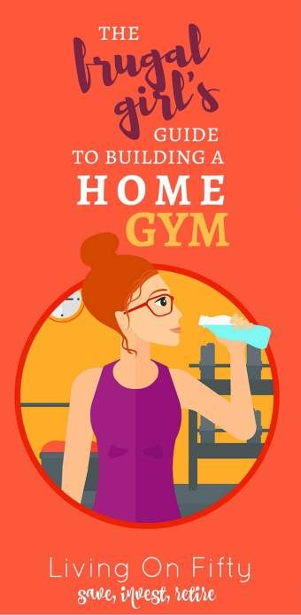 Create a frugal home gym on the cheap (and any budget) with these insider tricks for how to buy cheap home gym equipment - great ideas!