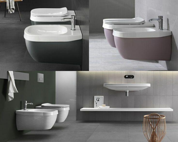 17 Best Images About Pinning | Wc & Bidet On Pinterest | Toilets ... Toilette Und Bidet Design Hatria