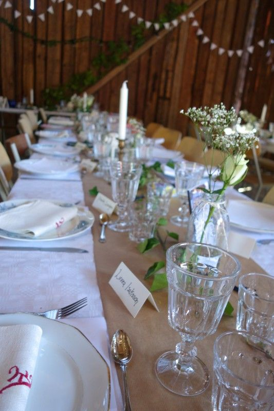 Bröllopsfest i en lada | Josefin Knave – bebis och bröllop