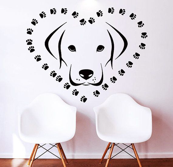 141 best pet grooming images on pinterest dog grooming business wall decals decal vinyl sticker dogs heart home decor window dorm living room pet shop grooming solutioingenieria Gallery