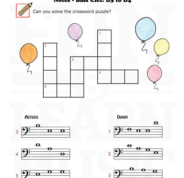 music notes worksheets for kids | Free Music Worksheets ...