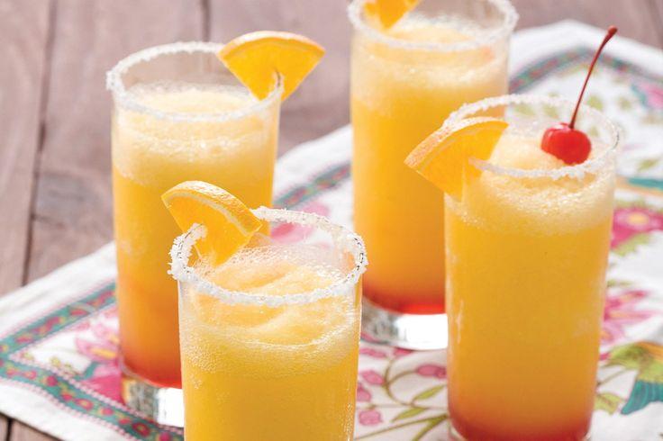 Recette d'un cocktail classique: le Tequila Sunris...