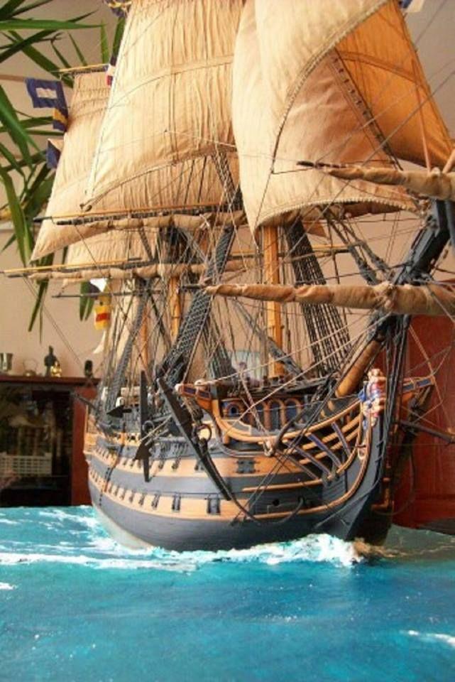 sailboat models decor, Miniature Tall Ship Replica, model ships,