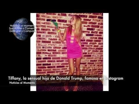 Tiffany, la sensual hija de Donald Trump, famosa en Instagram