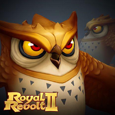 Royal Revolt 2: Twisted Archimedes, Tim Moreels on ArtStation at https://www.artstation.com/artwork/mKwEa