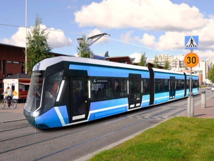 Tampere Light Rail System, Finland