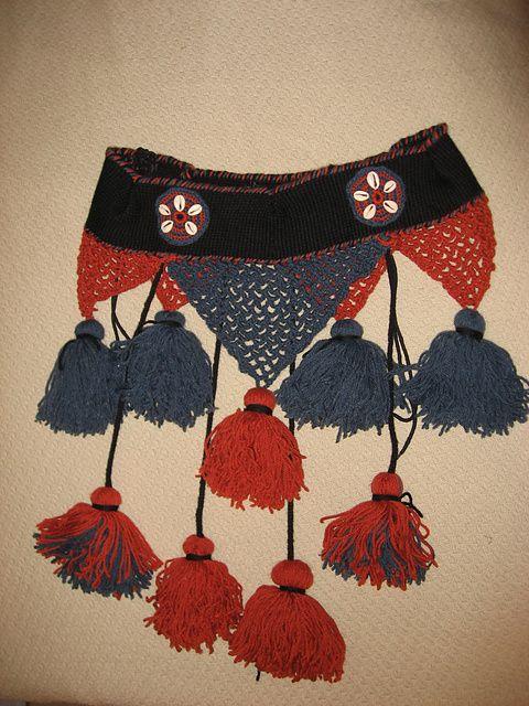 #Ravelry : Bellydance Tassel Belt pattern by Kasihime